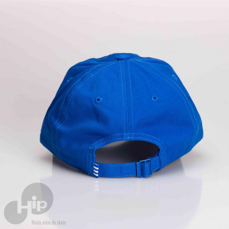 Boné Adidas Aba Curva Trefoil Azul - Loja HIP a11c535e64a