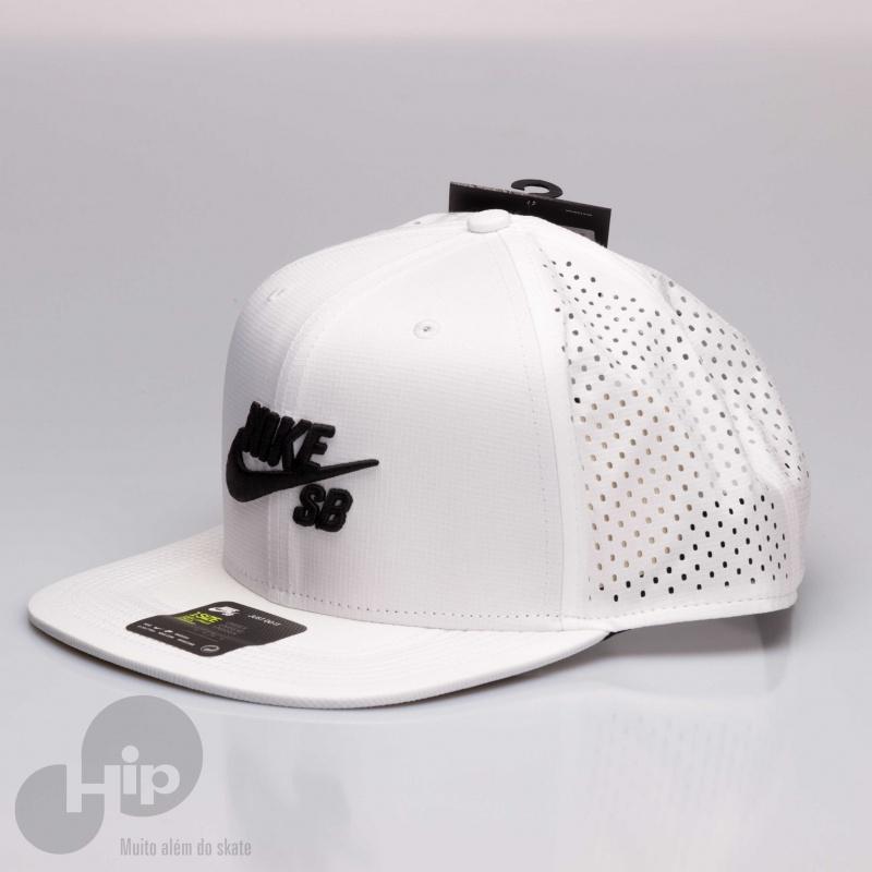Boné Nike Sb Aero Pro Branco - Loja HIP 76b94820d3e