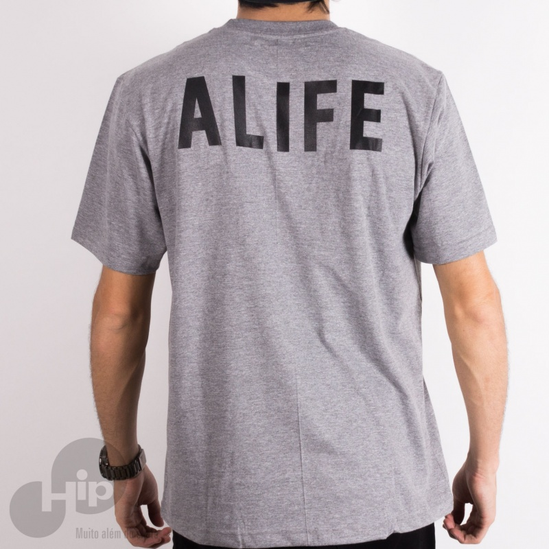 CAMISETA ALIFE STAINED GLASS CINZA