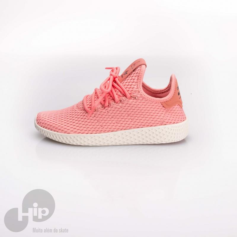 Tênis Adidas Pharrell Williams Hu Rosa - Loja HIP 31a0ab7a1fd81