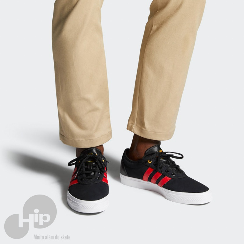 0b9d1f8b0 Tênis Adidas Adiease Preto E Vermelho - Loja HIP