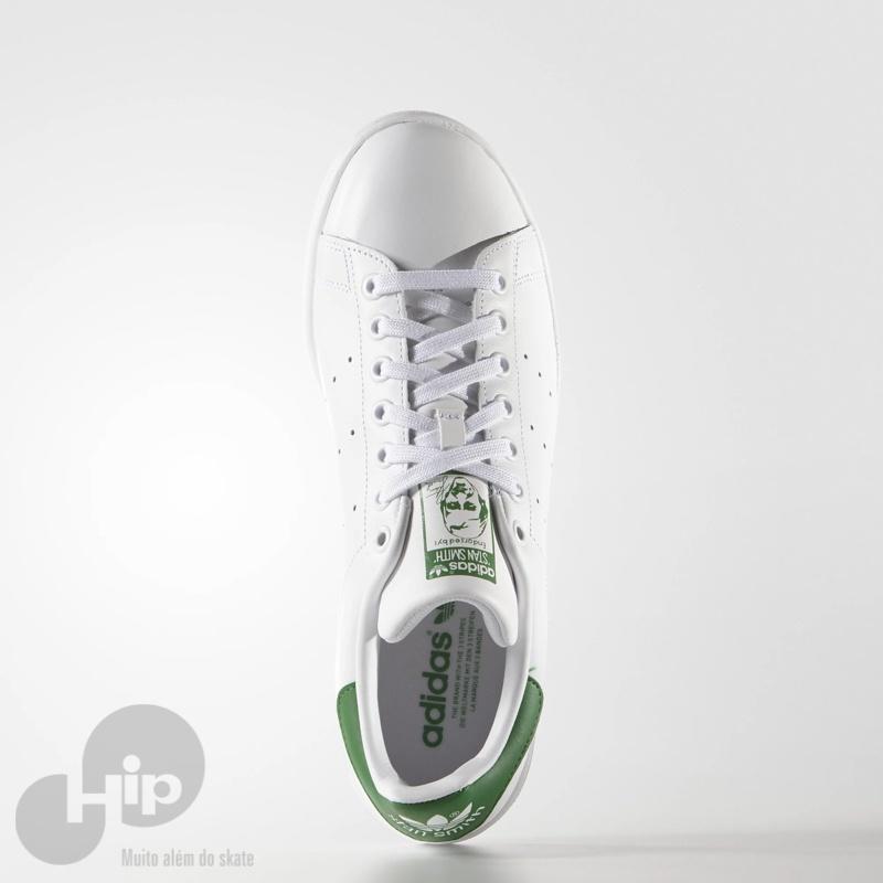 793ee0a3558 Tênis Adidas Stan Smith Branco Verde - Loja HIP