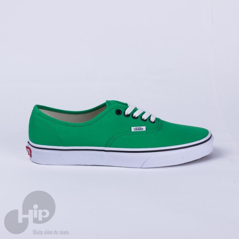 b15d7d7ba37 Tênis Vans Authentic Bright Verde - Loja HIP