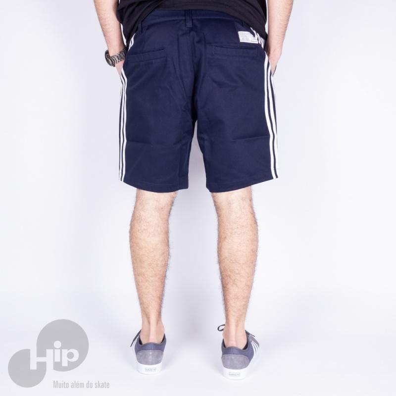Bermuda Adidas Ec7299 Azul Escuro