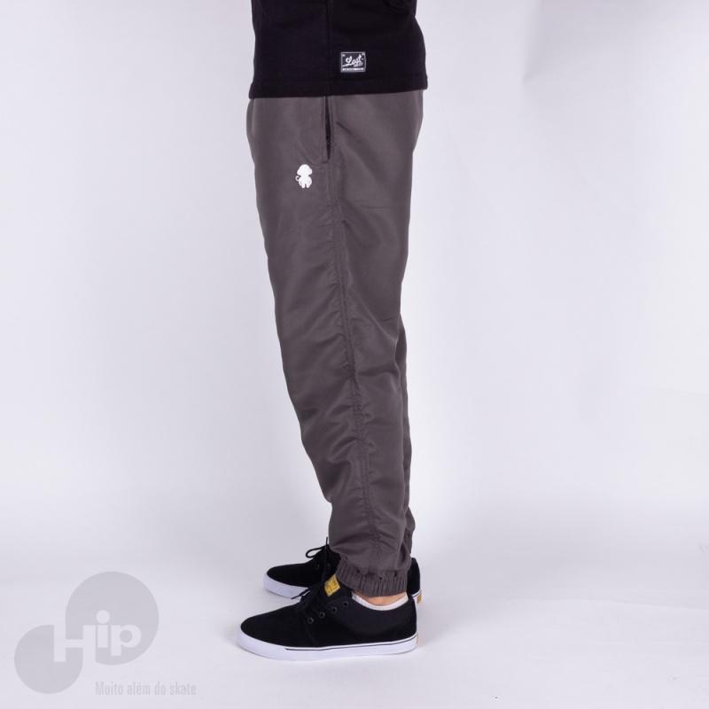 Calça Improve Jogger Monkey Logo Cinza