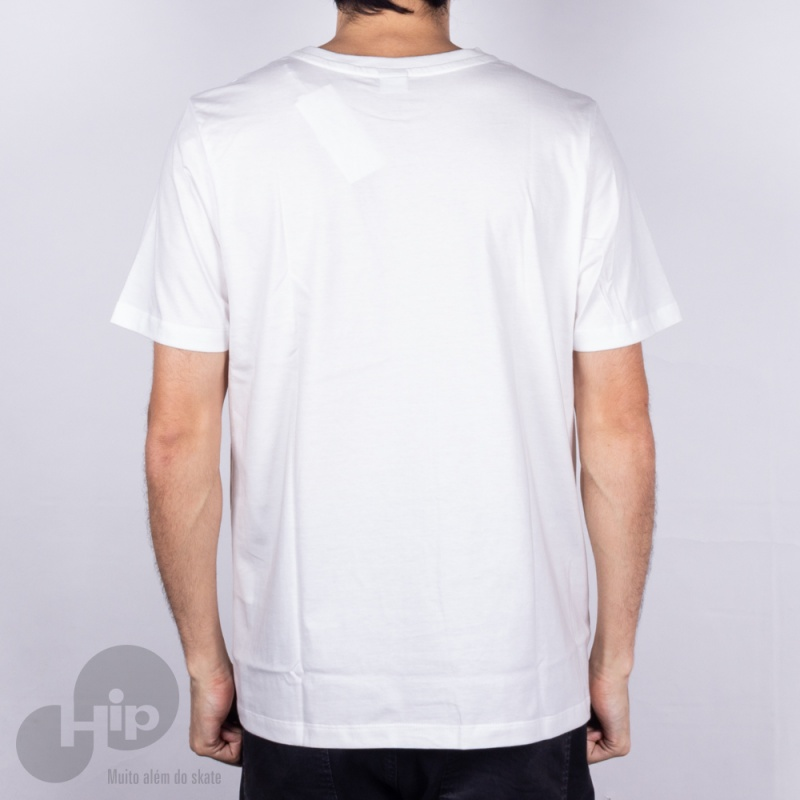 Camiseta Alg Basic Talco Branca