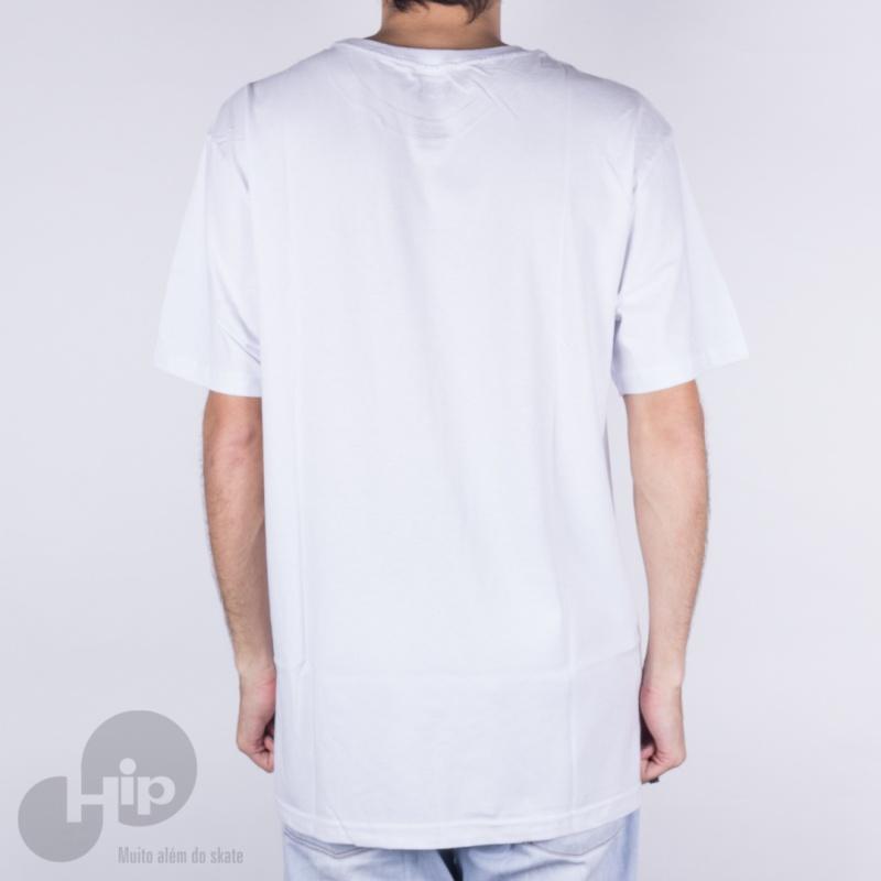 Camiseta Dgk Hustle Club Branca