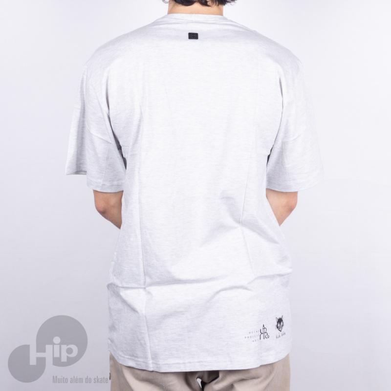 Camiseta Hocks Pa Nicole Cinza Claro