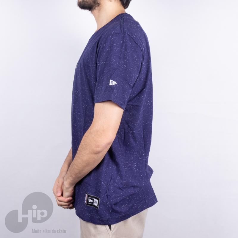 Camiseta New Era Mini Cleveland Cavaliers Azul Escuro