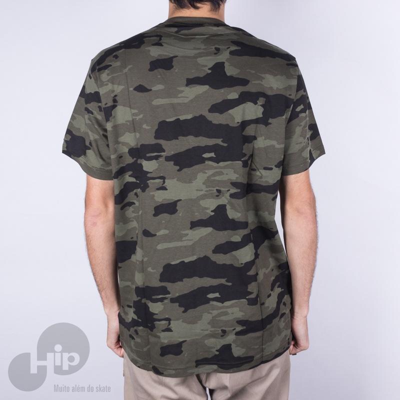 Camiseta Santa Cruz Savage Camuflado Verde
