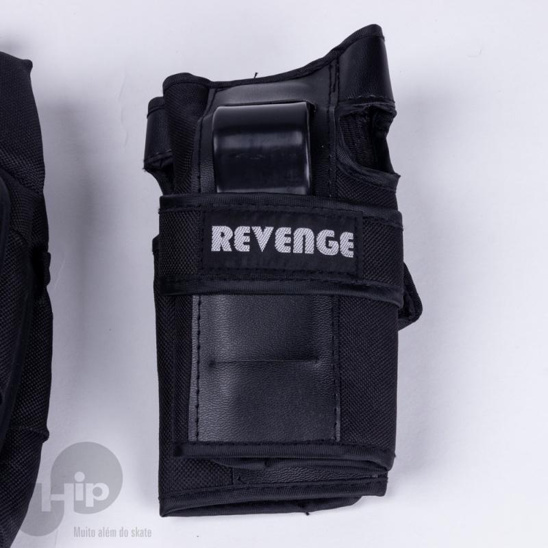 Kit De Proteção Revenge/Viking Preto