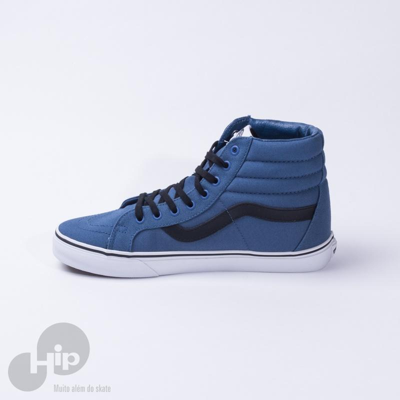 Tênis Vans Sk8-Hi Reissue Caiot Azul