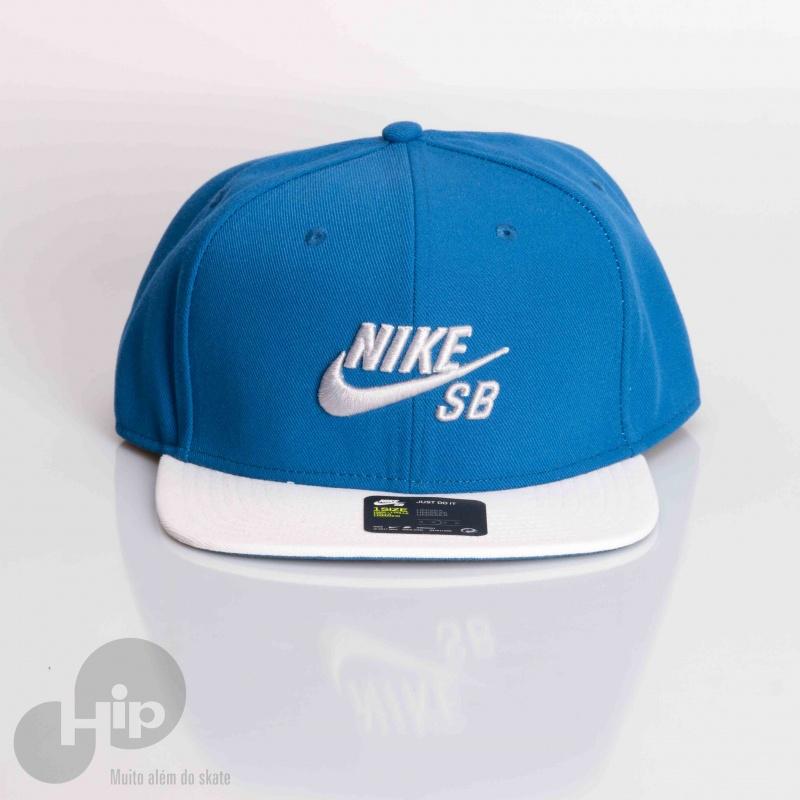 a7f27a19af835 Boné Nike Sb Aba Reta Azul - Loja HIP