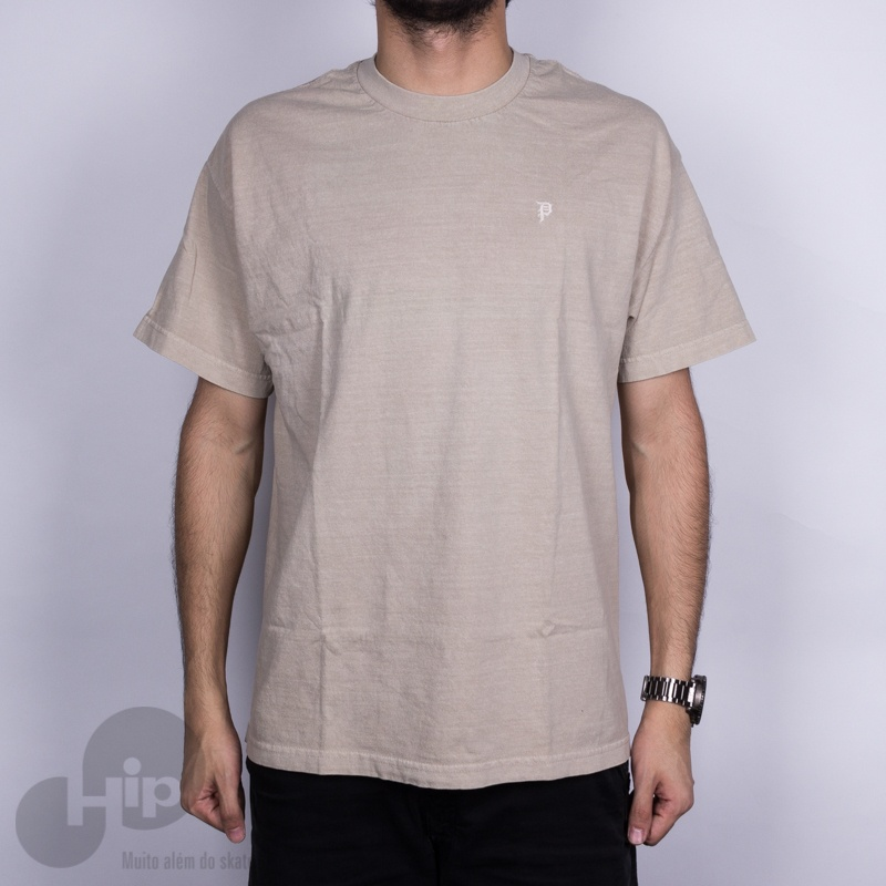 Camiseta Primitive Mini Dirty P Bege Escuro - Loja HIP ee4768184a6d4