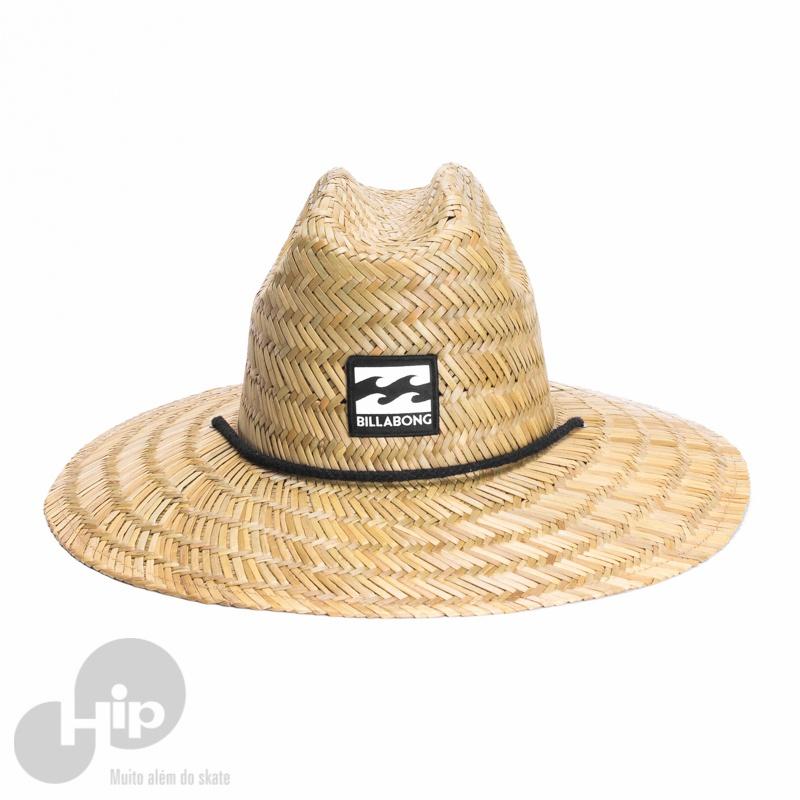 Chapéu de Palha Billabong Tides Amarelo - Loja HIP 61c89bbab55