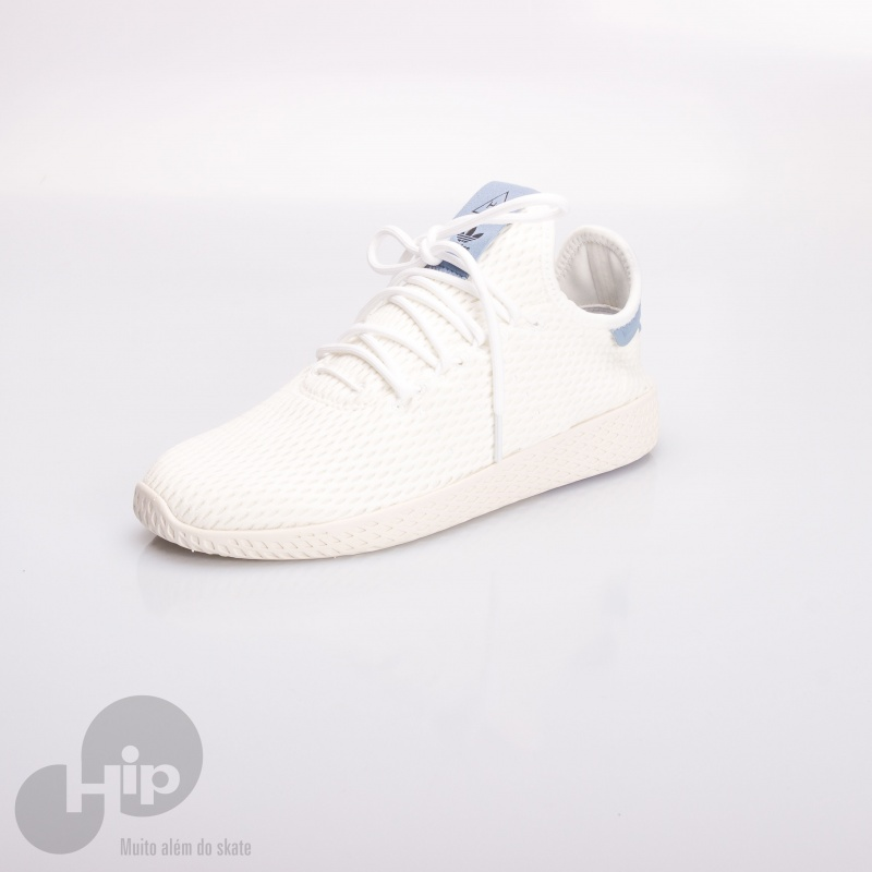 Tênis Adidas Pharrell Williams Hu Branco - Loja HIP c949d61e962a4