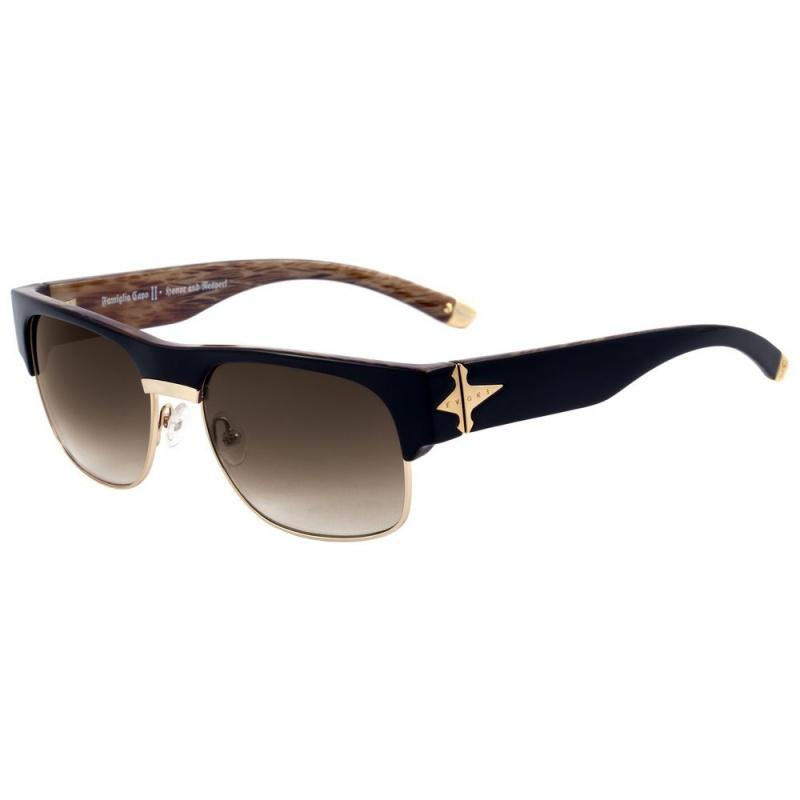 a02c13ae47d96 Óculos Evoke Capo II Black Wood - Loja HIP