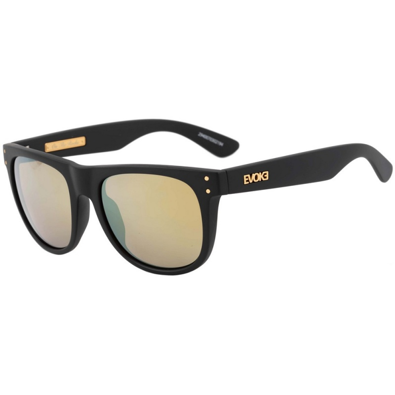9f27c4f442063 Óculos Evoke On The Rocks Black Matte Espelhado - Loja HIP