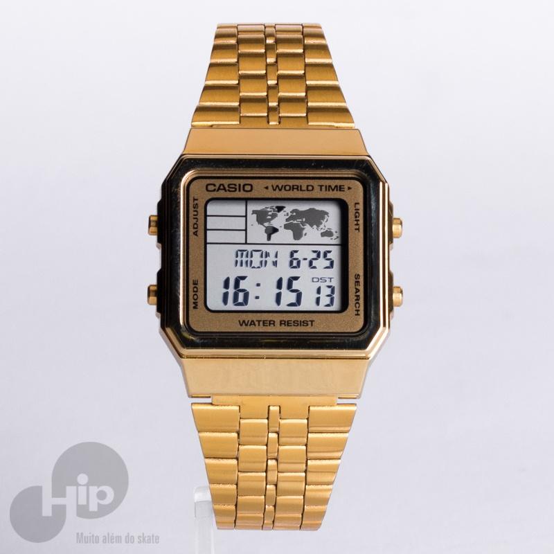fd577076d7b Relógio Casio A500wga-9df Dourado - Loja HIP