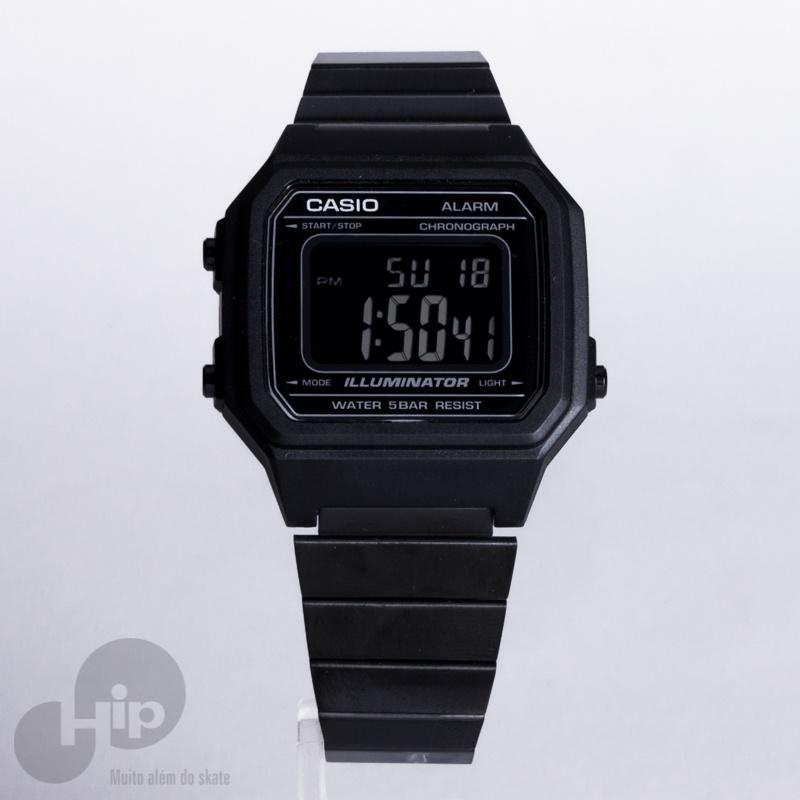 02701497d Relógio Casio B650wb-1bdf Preto - Loja HIP