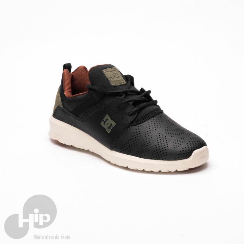 334671542a Tênis Dc Shoes Heathrow Se Preto - Loja HIP
