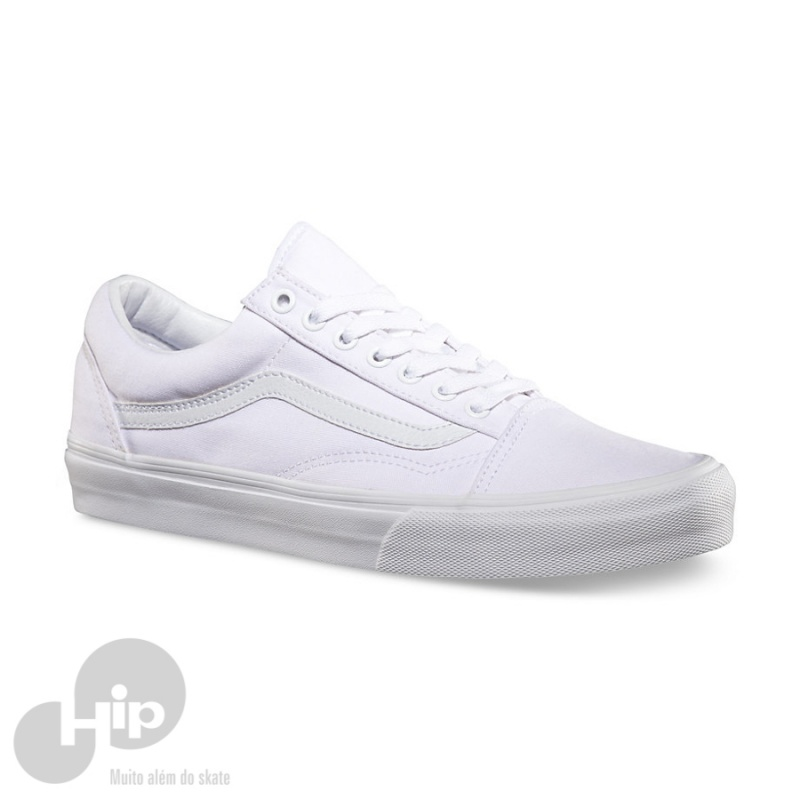 417a0f3a5fd Tênis Vans Old Skool True White - Loja HIP