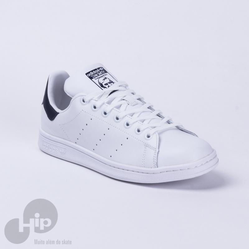 4c7b760516 Tênis Adidas Stan Smith H68399 Branco Azul - Loja HIP