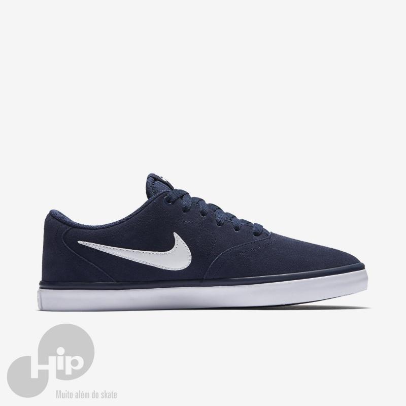 Tênis Nike Sb Check Solar Azul - Loja HIP cd57fd67f64ab
