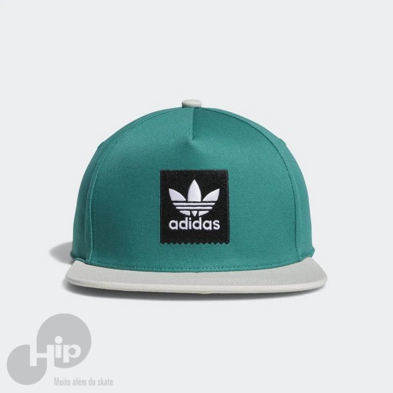 Boné Adidas Two-Tone Trefoil Snapback Verde - Loja HIP 2bf169211c4