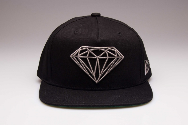 Boné Diamond Brilliant Preto