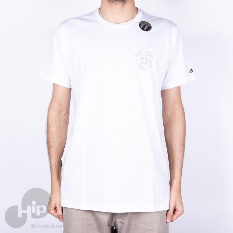 Camiseta Billabong Multicam Branca