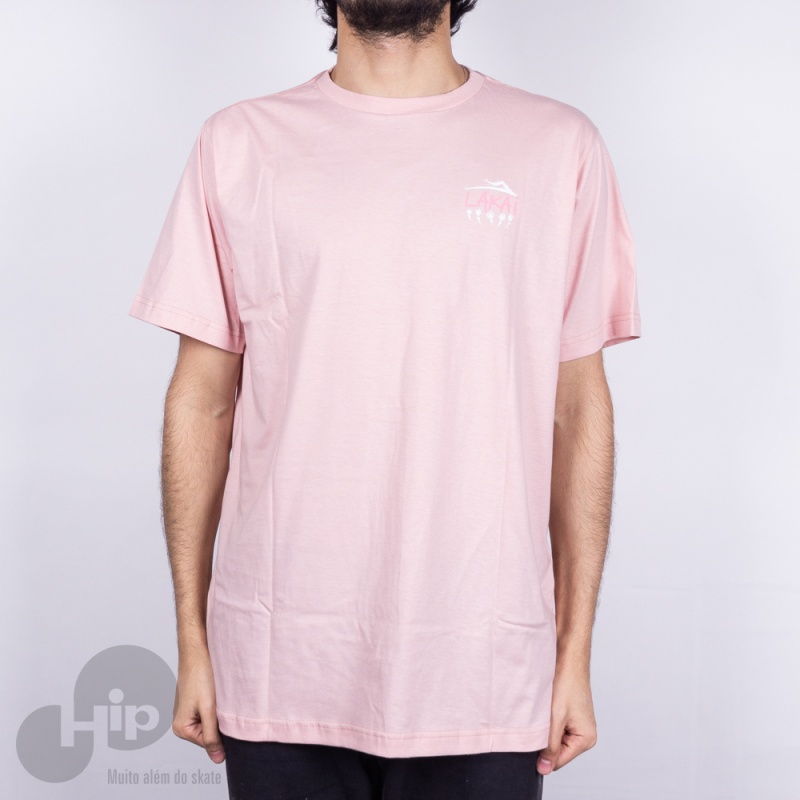 Camiseta Lakai Pushing Daisies Rosa
