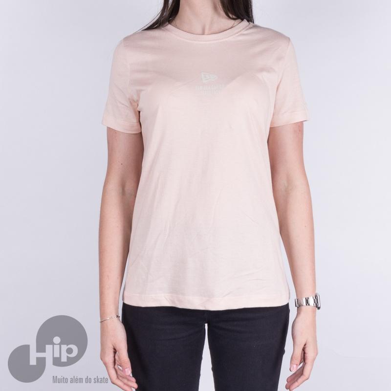 5134f0a372 Camiseta New Era Girls Branded Rosa - Loja HIP