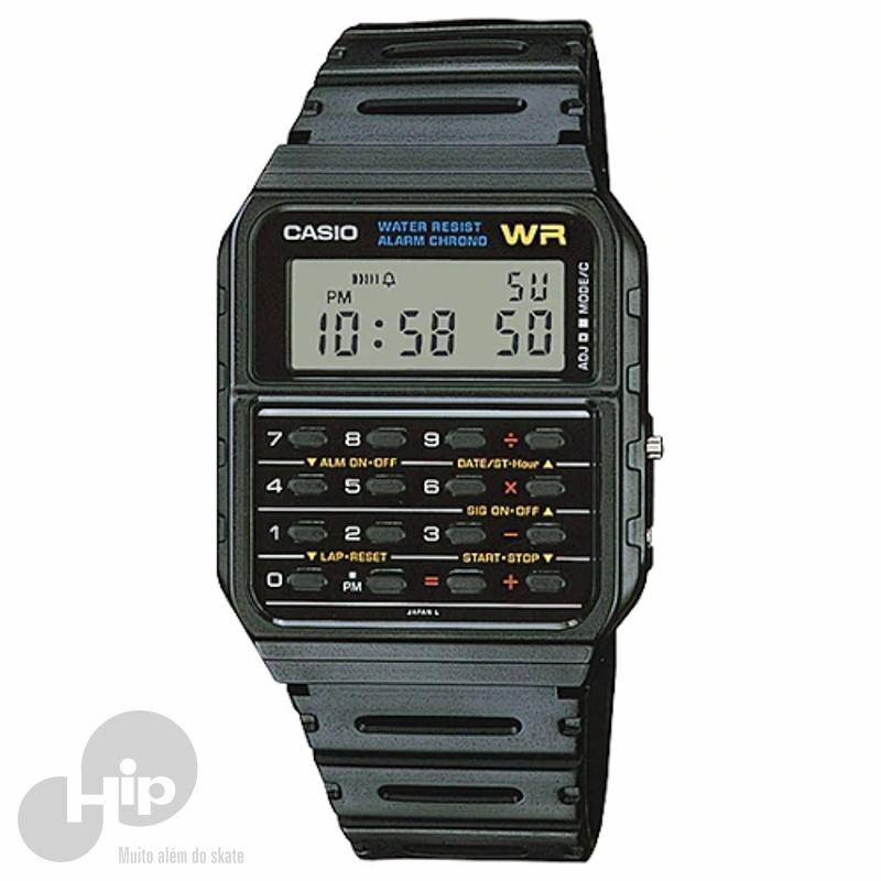 b60a99d87 Relógio Casio Ca-53W-1Z Preto - Loja HIP
