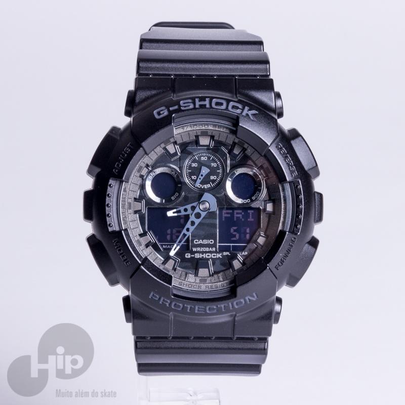 fc89c01af33 Relógio G-Shock Ga-100Cf-1Adr Preto - Loja HIP