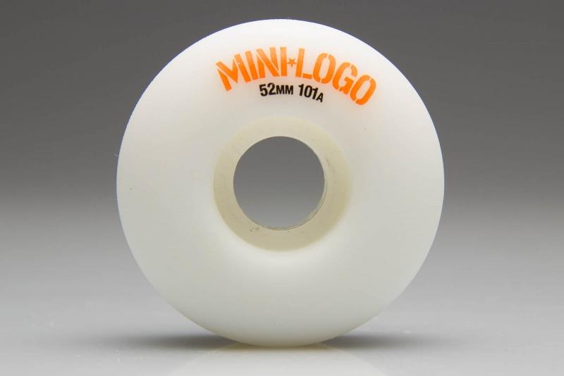 Roda Mini Logo 52mm C-cut 101a Branca