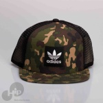 BONÉ ADIDAS REGULAGEM CAMO TRUCKER HAT