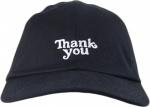 Boné Thank You Strapback Dad Hat Preto