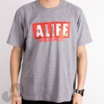 CAMISETA ALIFE SPENT IT CINZA