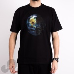 Camiseta The Hundreds Earth Star Preta
