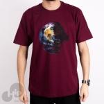 Camiseta The Hundreds Earth Star Vinho