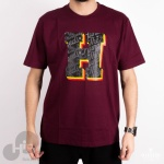CAMISETA THE HUNDREDS BORDÔ