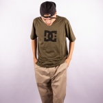 Camiseta Dc Shoes Star Color Verde