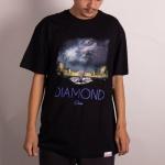Camiseta Diamond Louvre Piramid Preto
