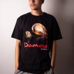 Camiseta Diamond Mirror Preto