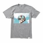 Camiseta Diamond Sky Cinza Claro