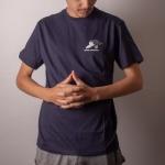 Camiseta Volcom Go Get Tiger Azul Escuro