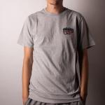 Camiseta Volcom Pearys Cinza Claro
