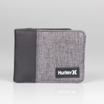 Carteira Hurley Plate Cinza Escuro
