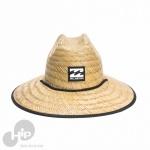 Chapéu de Palha Billabong Tides Pipe Print Amarelo